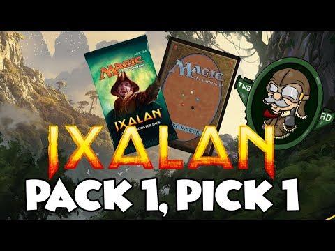 Magic: The Gathering Ixalan Pack 1 Pick 1 (MTG XLN) Ep 3