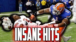 Biggest Football Hits Ever (NFL, NCAA, CFL)