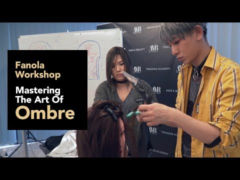 Fanola Workshop - Mastering The Art Of Ombre