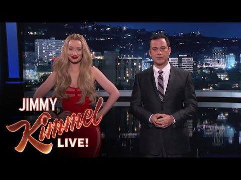 "New Lyrics for Old People: Jimmy Kimmel and Iggy Azalea Translate ""Fancy"""