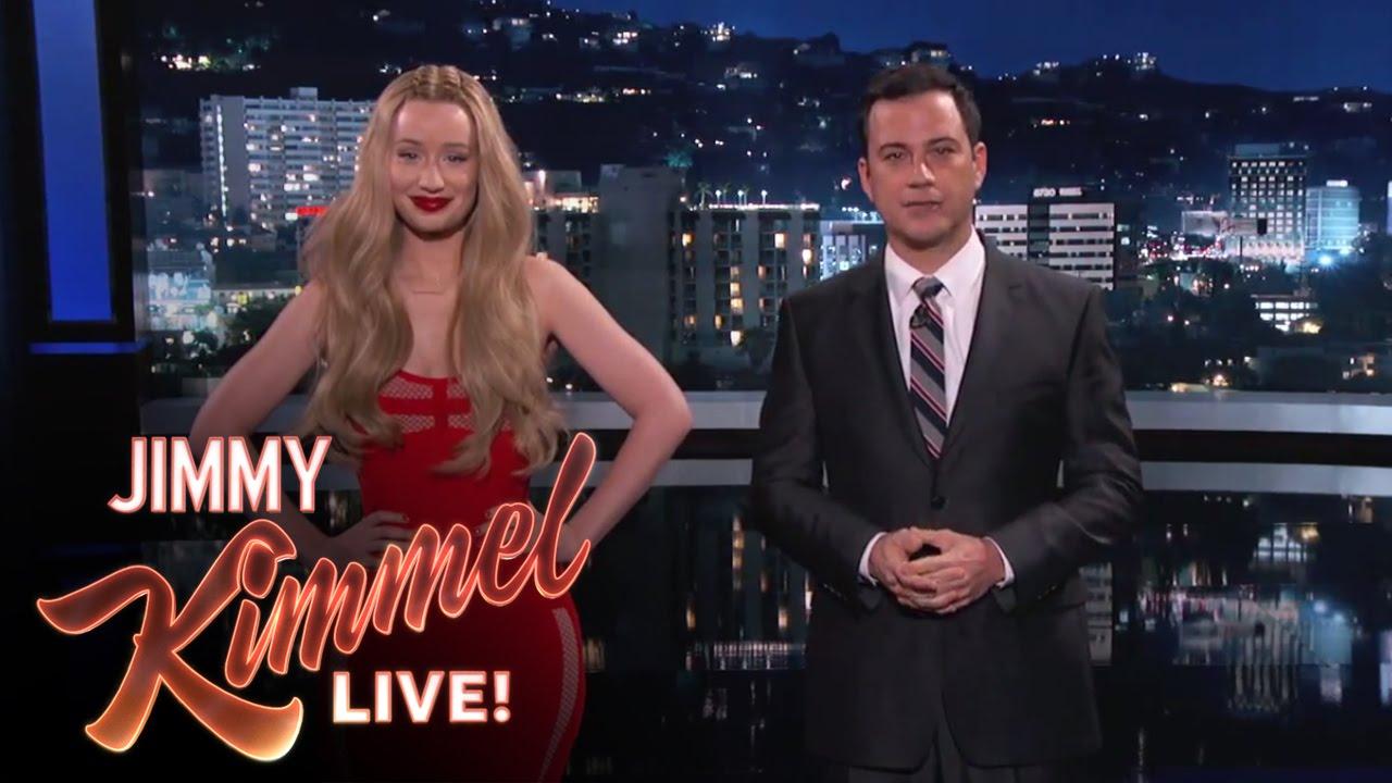 Jimmy Kimmel iggy azalea