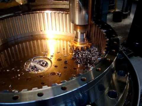 Lorenz SJ10007 Gear Shaping 1.3 Million Nm Gear Coupling Sleeve.wmv