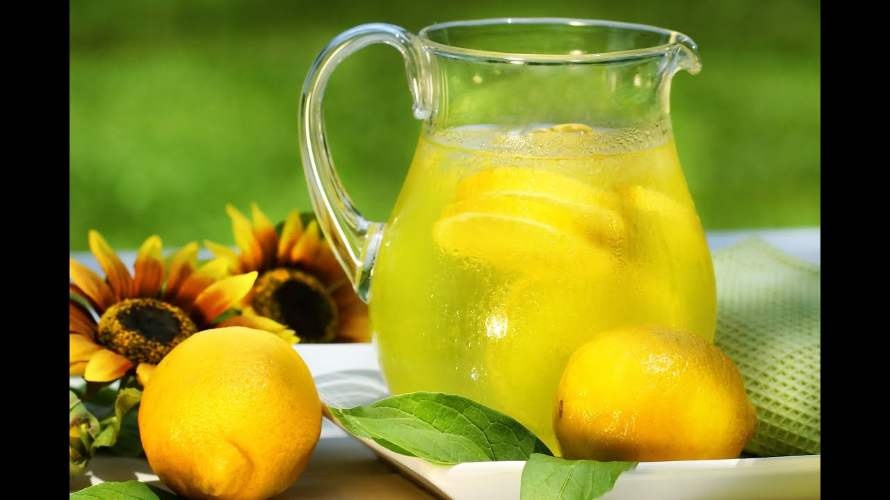 que es el zumo de limon natural