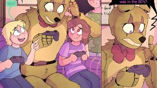 Springtrap and Deliah Part 6【 FNAF Comic Dub - Five Nights at Freddy's 】