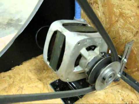 repurpose washing machine motor