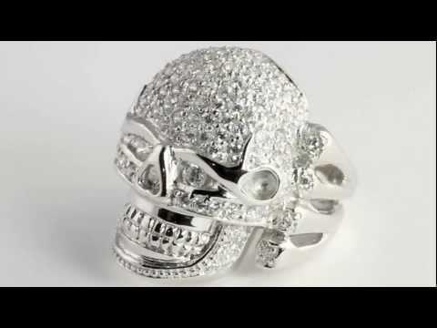 DiamonUltra™ CZ Skull Ring. http://bit.ly/377csoh