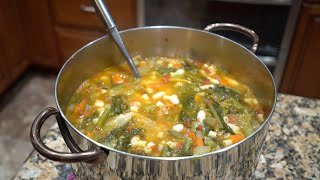 Italian Grandma Makes Minestrone Soup