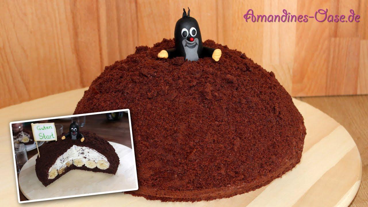 Maulwurfkuchen Schokoladige Kuppeltorte Mit Sahniger Straciatella