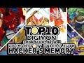 Top 10 Digimon I m Most Excited for Digimon Story Cyber Sleuth  Hacker s Memory   Digimon Top 10