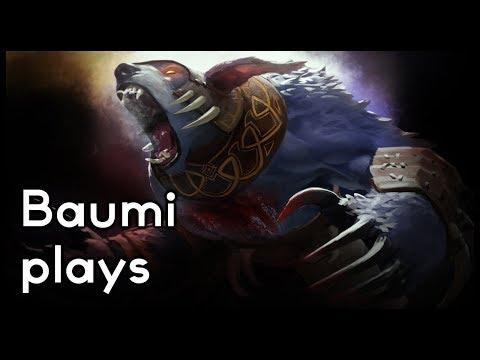 Dota 2   BIG NEWS IN A BIG GAME!!   Baumi plays Ursa