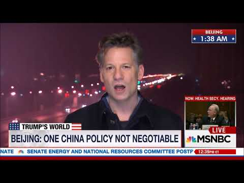 China Responds To President Trump //  New Relationship //  Andrea Mitchell //  MSNBC //
