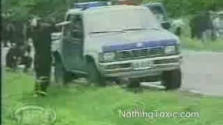 grenade exploded in Car