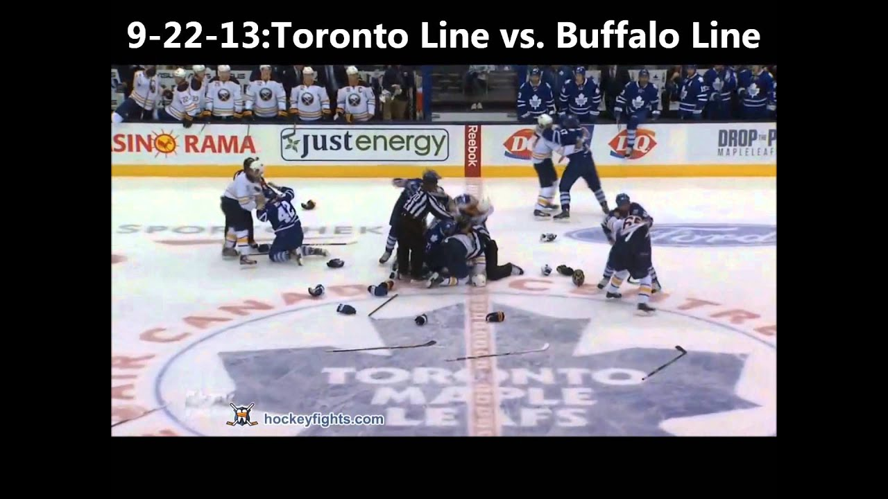 Top ten nhl hockey fights of preseason 2013 hd youtube