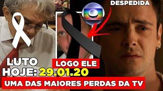 Chega triste notícia de querido Jornalista... ator da globo Sérgio Guizé não suporta e desabafa após