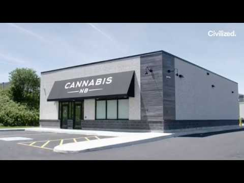 A Sneak Preview Of Cannabis NB, One Of Canada's First Legal Marijuana Stores
