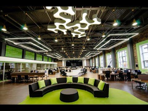 Дизайн офисного комплекса в стиле Loft