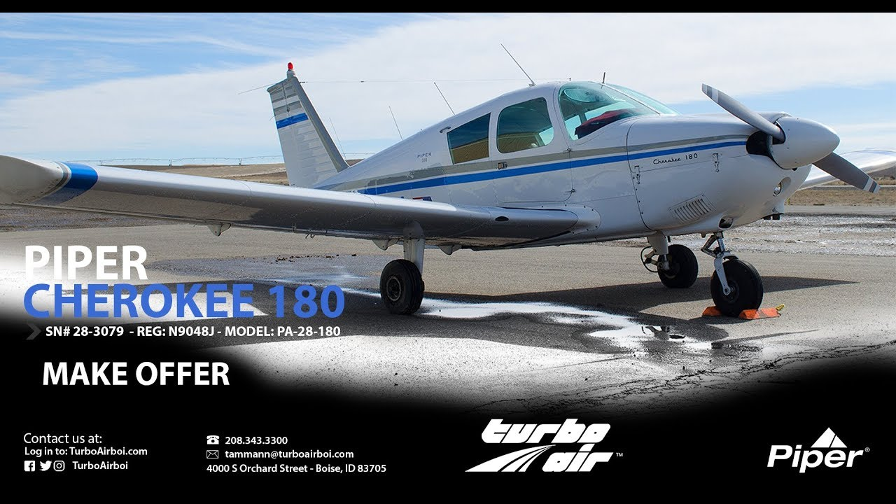 Piper Cherokee 180 For Sale Youtube