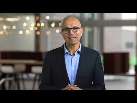 Satya Nadella, CEO Microsoft, ICC Inspire Awardee