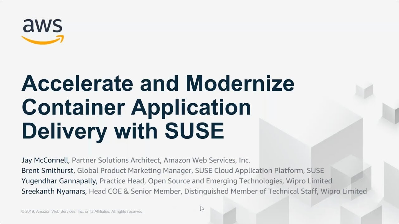 Accelerate And Modernize Container Application Delivery With SUSE