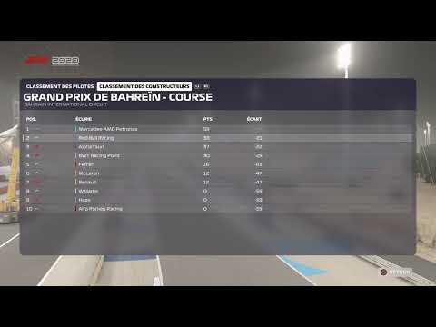F12020 mode carrière pilote #2 saison3