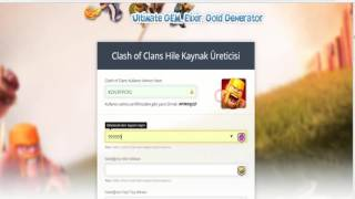 CLASH OF CLANS GERCEK HİLESİ!CLASH OF CLANS REAL HACK