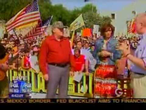 Joe Horn At The Alamo Tea Party In San Antonio