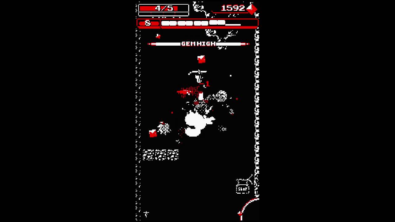 Downwell Launch Trailer Ios And Pc Youtube