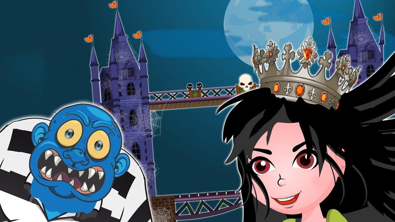 Halloween Special ! London Bridge is falling down | Spooky Halloween Songs | Scary songs for kids