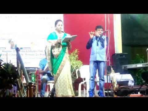 prabhunka name mu kare prathana//singer.niharika nanda//odia christian song on berhampur
