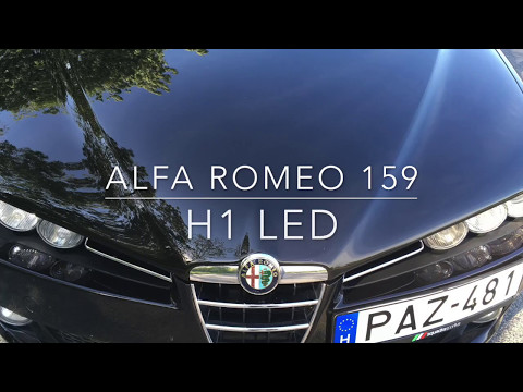 Alfa Romeo 159 H1 LED (High Beam)