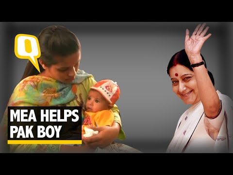 Pak Parents Grateful for India's Help to Their Ailing Infant - The Quint