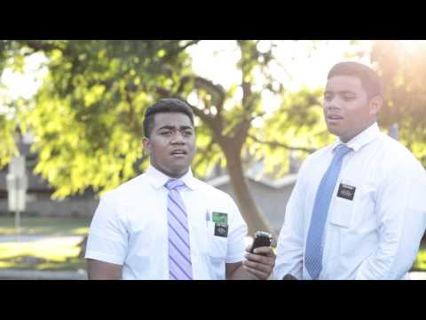 Folofola Mai a Sisu - Mormon Missionaries sing Tongan song