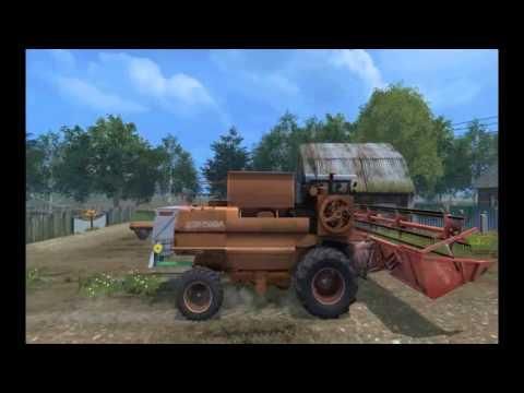 Novaya Russkaya Karta Markovo V2 0 Dlya Farming Simulator 15 Youtube