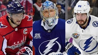 Русская неделя в НХЛ: Кучеров, Овечкин, Василевский, Радулов