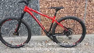 Ghost Kato X6 9 AL U 29R Mountain Bike 2018