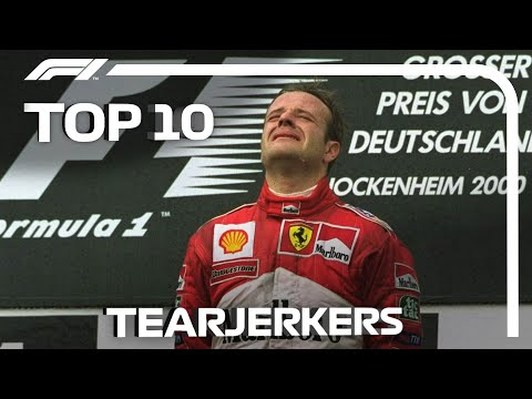 Top 10 Tearjerkers In Formula 1