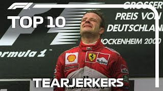Top 10 Tearjerkers in Formula 1