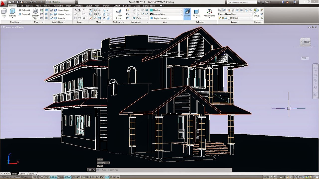 how to add carpet finish in autocad