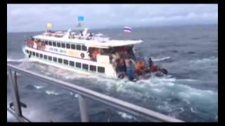 Phuket tour boat sinks