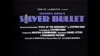 Silver Bullet 1985 TV trailer