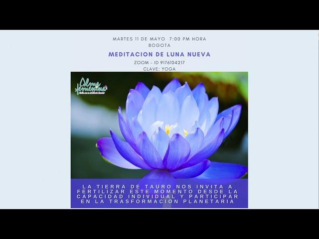 Meditación Luna Nueva de Tauro