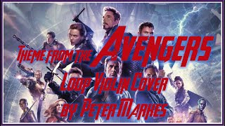 THEME from THE AVENGERS  |  Loop Violin Cover by Peter Markes