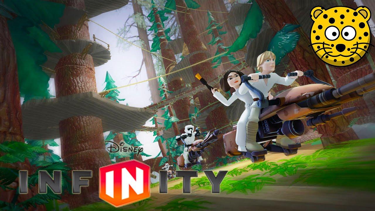 Gwiezdne Wojny Star Wars Fajne Gry po Polsku - Disney Infinity 3.0 PL