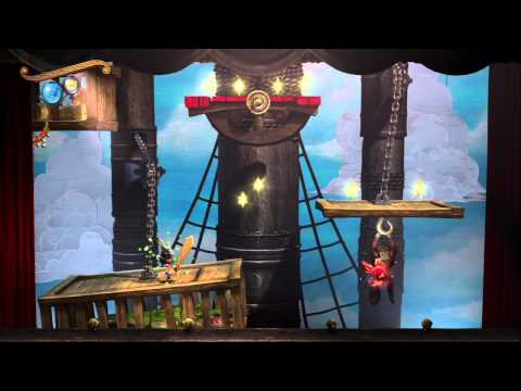 Puppeteer (PS3) - Act 3 Curtain 1 - HD Gameplay (No commentary)