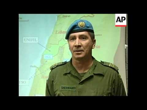 SYRIA/ISRAEL: UN MILITARY BASE ON THE GOLAN HEIGHTS