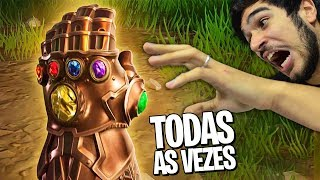 HOW TO GET THE GAUNTLETS IN ALL MATCHES!! FORTNITE THANOS MODE