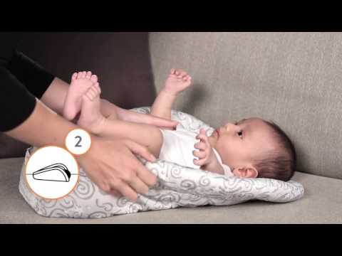 Ergobaby - How to Front Carry with Infant Insert Put On & Take Off