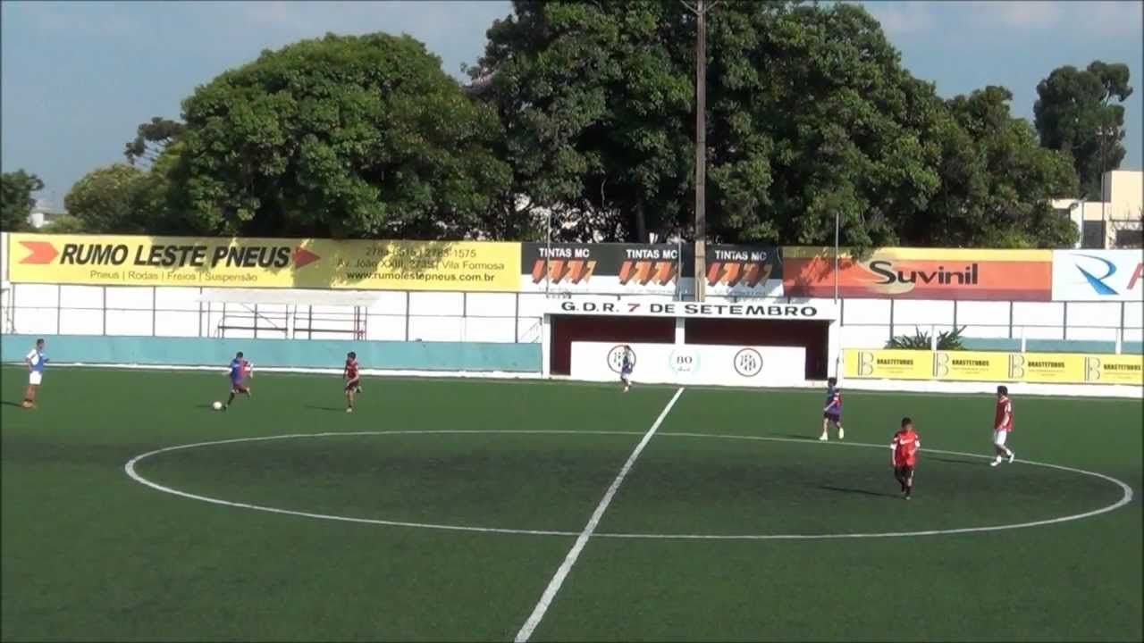 Treino Sub13   Sub15 - Futebol de Campo - YouTube 85b1afb902829