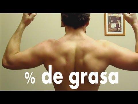 Pierde grasa y aprende a definirte - Porcentaje de grasa corporal (CAP5)из YouTube · Длительность: 9 мин33 с