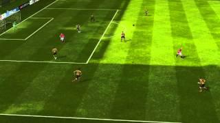 FIFA 14 iPhone/iPad - Thuggee League vs. Manchester Utd